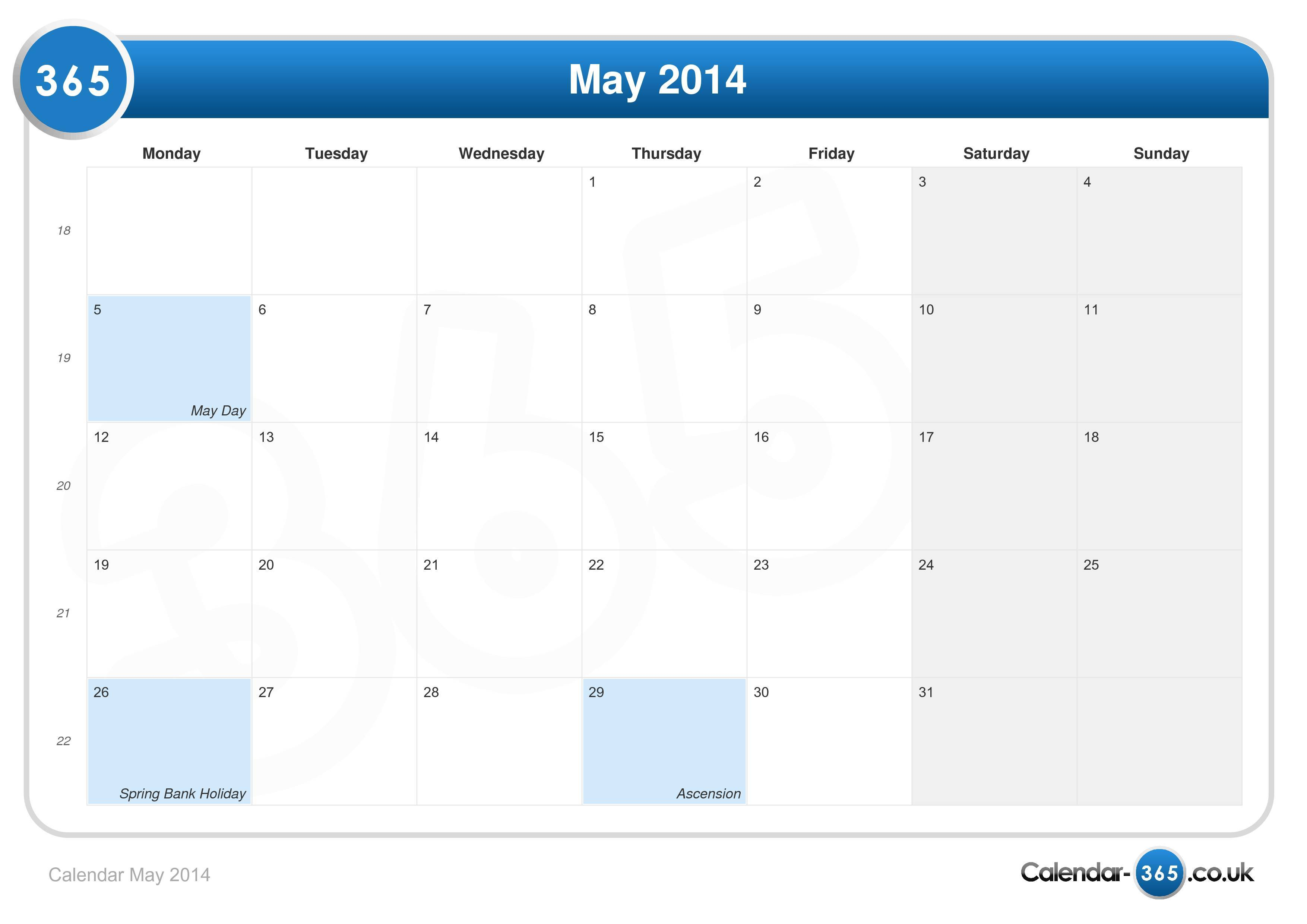Calendar may 2014g saigontimesfo