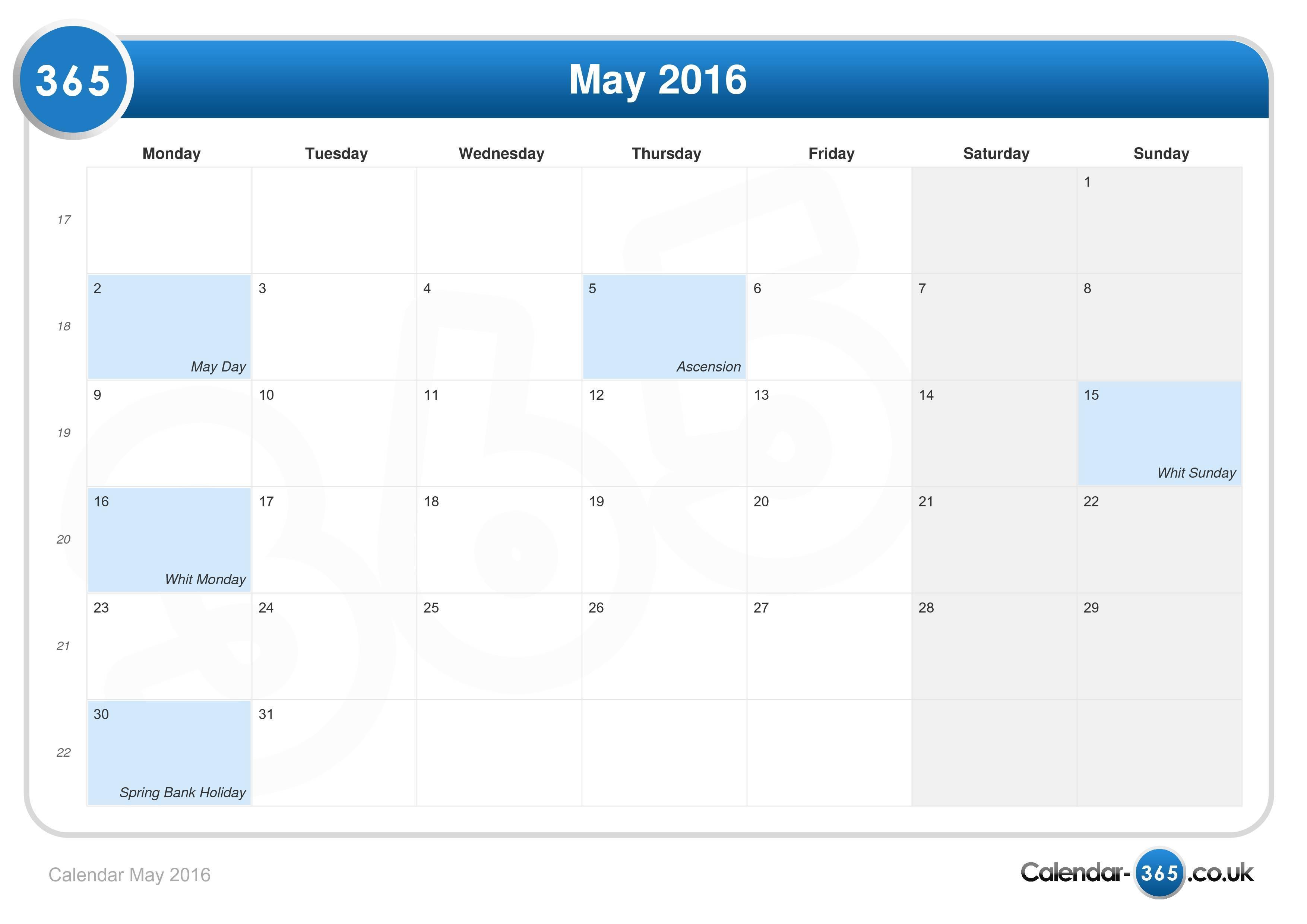 Calendar May Uk : Bank holidays uk calendar « neo gifts